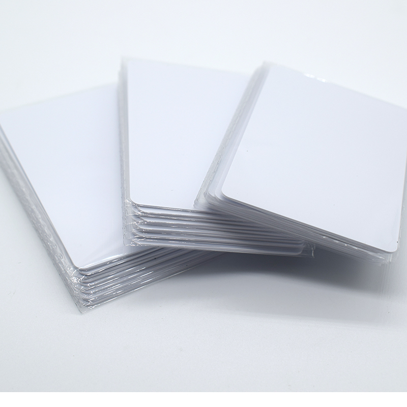 100Pcs/lot 13.56Mhz Rfid Access Control IC Card IC Smart Card Tag 0.8mm Thin Can Read And Write 1pcs lot em4305 rfid tag blank card thin pvc card read and write writable readable rfid 125khz smart card