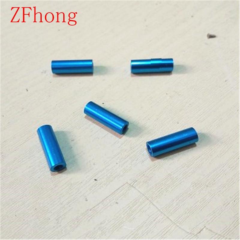 10pcs M3*10/15/20/25/30/35/40/45/50 M3 Thread Light blue Aluminum Round Standoff Spacer For RC Parts коньки onlitop 223f 37 40 blue 806164