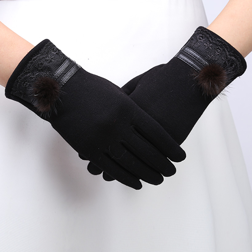 White Cotton Dress Gloves Women Promotion-Shop for Promotional ...