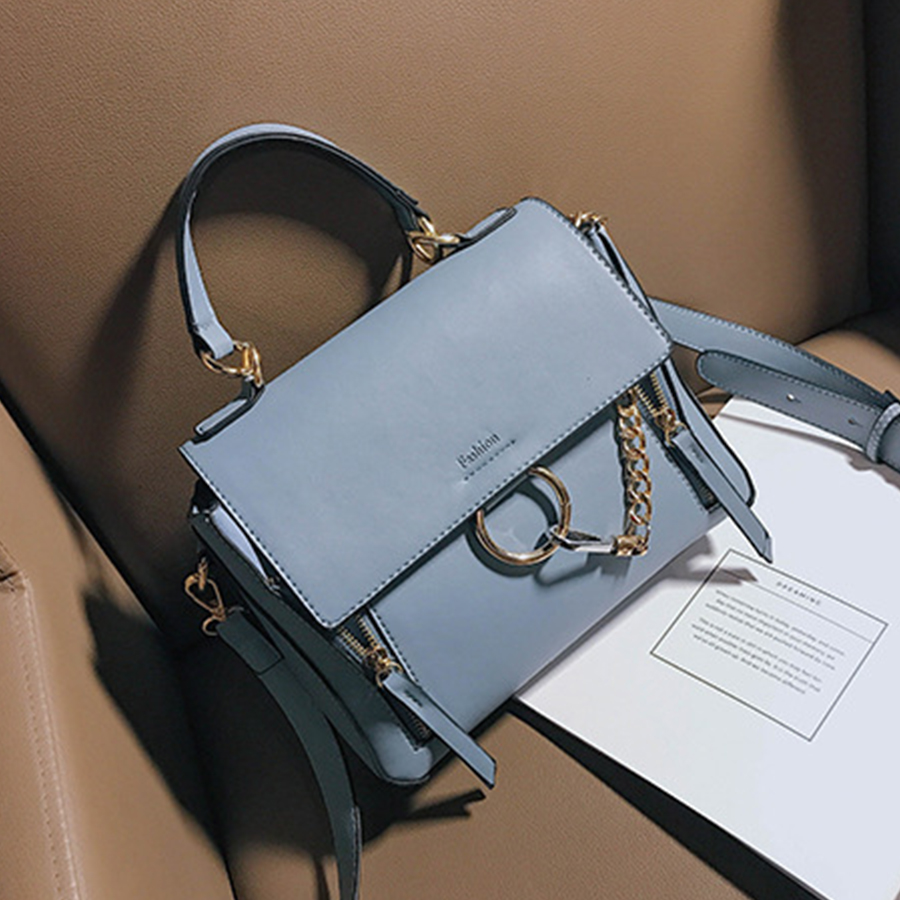 2017 Vintage Messenger Bags Women Luxury Brand Designer Pu Leather Crossbody Bag Fashion Casual Handbags Woman Shoulder Bag Faye