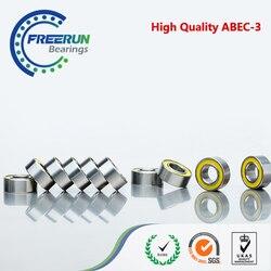10 шт., подшипники из желтой резины, 6X12X4 MR126 2RS ABEC3 модельные подшипники