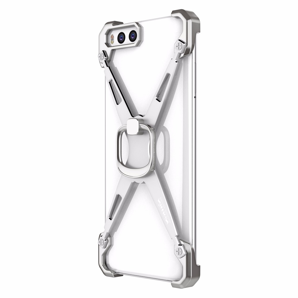 Nillkin Barde Metal Case Xiaomi Mi6 Mi 6 Ring Shape Holder Case Stand Back Cover Bumper