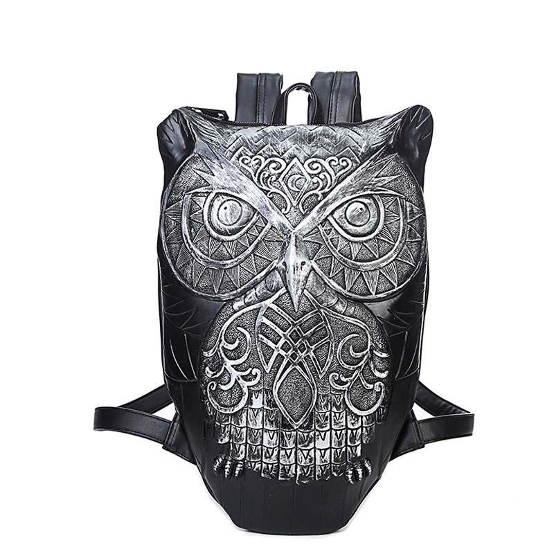 New Fashion Backpack Women Backpacks Men Backpack 3D Printing Owl Women School Bags For Teenagers Travel Bag High Capacity Bag