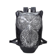 New Fashion Backpack Women Backpacks Men 3D Printing Owl School Bags For Teenagers Travel Bag High Capacity