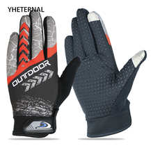 YHETERNAL Gloves Winter Thermal Windproof Bicycle Gloves Outdoor Sport weightlifting Glove Full Finger For Men Women Mittens