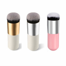 Flazea Pro Makeup Brushes Tools BB Cream Concealer Foundation Powder Brush Oval Face Cosmetic Blush Brush Make Beauty Essentials hot oval makeup brushes tools cosmetic 2color foundation cream powder blush make up brush set
