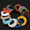5M 1.5mm Round Real Leather Jewelry Cord String Beading Cords DIY Accessories for Necklace Bracelet Jewelry Material Supplies