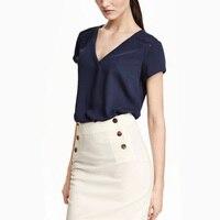 2016夏の新しい控えめなフォーマルオフィスワーク着用シンプルな女