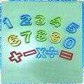 Esta arcilla arena conjunto de espacio para los niños hechos a mano juguetes educativos molde de arcilla ultraligero 15 dígitos