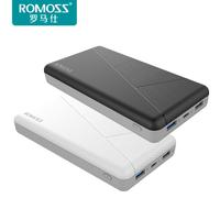 ROMOSS PIE20 PRO 20000mAh Mobile Power Bank QC3.0 PD3.0 External Battery Type C 2 USB Two way Fast Charging PD3 Mobile Poverbank