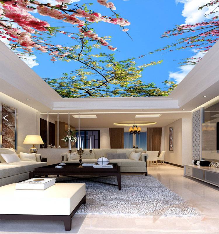 Customize Modern 3D Any Size Ceiling Murals Wallpaper for Living Room Wallmural Wallpaper decor ceiling non woven wallpapr home decoration wallpapers for living room 3d mural wallpaper ceiling customize size