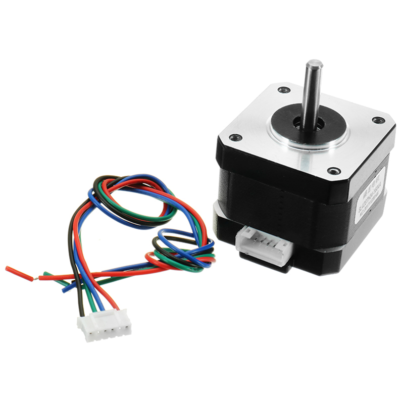 1pc Brand New <font><b>Nema17</b></font> <font><b>1.7A</b></font> 1.8 Degree 42MM Stepper Motor With Cable For 3D Priter image