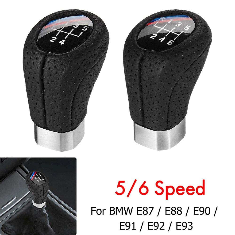 Горячая 5/6 ручка переключения скоростей для BMW 1/3/5 / 6er E60 E46 E87 E90 E92 X3 JLD