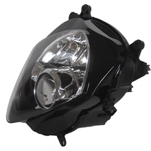 Motorcycle Headlight for Suzuki GSXR 1000 K7 2007 2008, Black Front Motor Headlamp Lighting Lights, China Parts