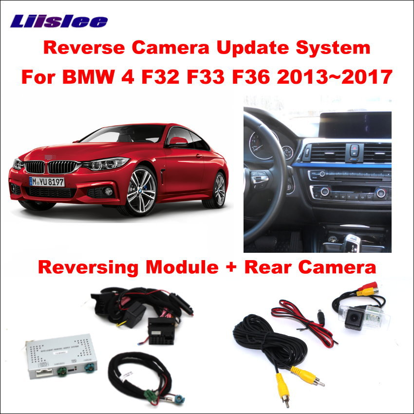Liislee Original Screen Update System For BMW 4 F32 F33 F36 2013 2017 Reversing Module Rear