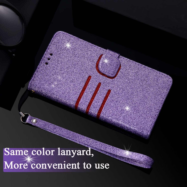 Funda de lujo con tapa carcasa para iPhone 6 6S 7 8 Plus X XS MAX XR PU de cuero con cartera suave para Coque iPhone 5 5S SE Card funda, soporte