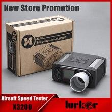 X3200 Airsoft BB пуля Скорость тестер съемки Хронограф для охоты съемки тестер