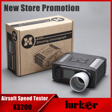 X3200 Airsoft BB Bullet Speed Tester Shooting Chronograph For Hunting Shooting Tester