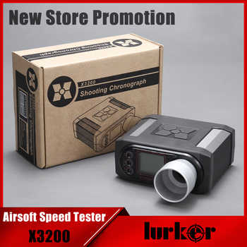 X3200 Airsoft BB Bullet Speed Tester Shooting Chronograph For Hunting Shooting Tester - DISCOUNT ITEM  28% OFF All Category