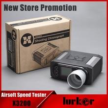 جهاز اختبار سرعة الرصاصة طراز X3200 Airsoft BB جهاز قياس رماية كرونوغراف للصيد جهاز اختبار للتصويب