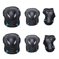 6pcs/set men and women Sports Safety Set Knee Elbow Pads Wrist Protector Kneecap Kneepads Protection For Scooter Cycling Roller