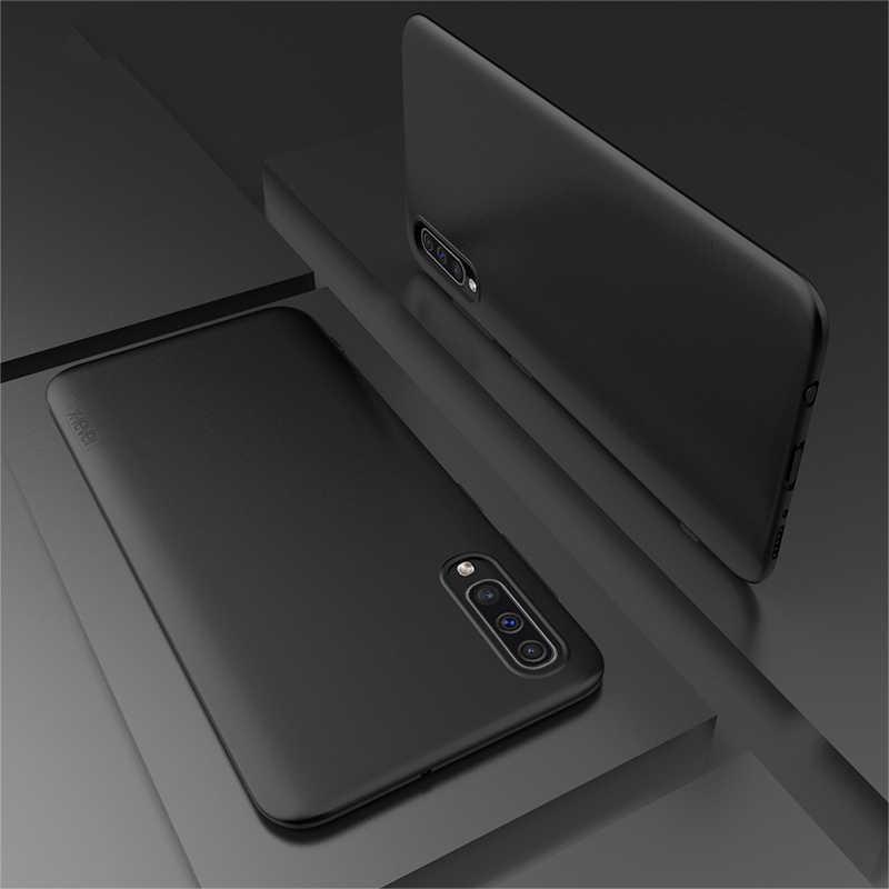 Lüks yumuşak Mat Darbeye Dayanıklı Silikon samsung kılıfı Galaxy a50 A70 A60 A40 A30 A20 Kılıfı M30 M20 M10 Telefon arka kapak Coque