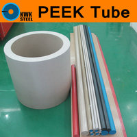 PEEK Pipe Tube Grade 450G 100 Pure Polyetheretherketone Tubular Thermoplastic Conform Extrusion Materials Tubing 300mm Length