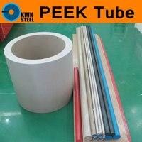 PEEK Pipe Tube Grade 450G 100 Pure Polyetheretherketone Tubular Thermoplastic Conform Extrusion Materials Tubing 300mm Length
