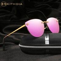 KITHDIA Brand Polarized Sunglasses Women Luxury Glasses Brand Designer Vintage Elegant Sun Glasses Oculos De Sol