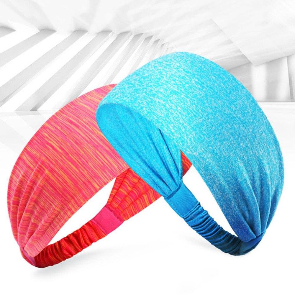 Universal Men Women Quick Drying High Elastic Sports Yoga Headband Sweat Hair Bands Stretch Headband Headwear Accessory New