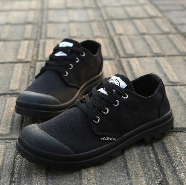 2018 spring and summer fashion new low canvas KM390-415 sneakers outdoor solid color wild breathable casual shoes 36-45
