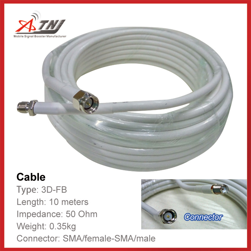 New Sale! Top Quality 10m ATNJ 3D-FB RG58 SMA-Female/SMA-Male Coaxial Cable
