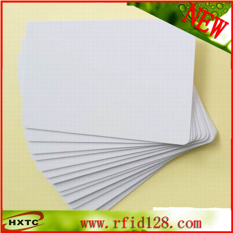13.56MHz RFID 1k S50 Blank PVC Card ISO14443A Smart IC Card Fudan Chips For ACR122U NFC Read Writer 100pcs lot printable pvc blank white card no chip for epson canon inkjet printer suitbale portrait member pos system