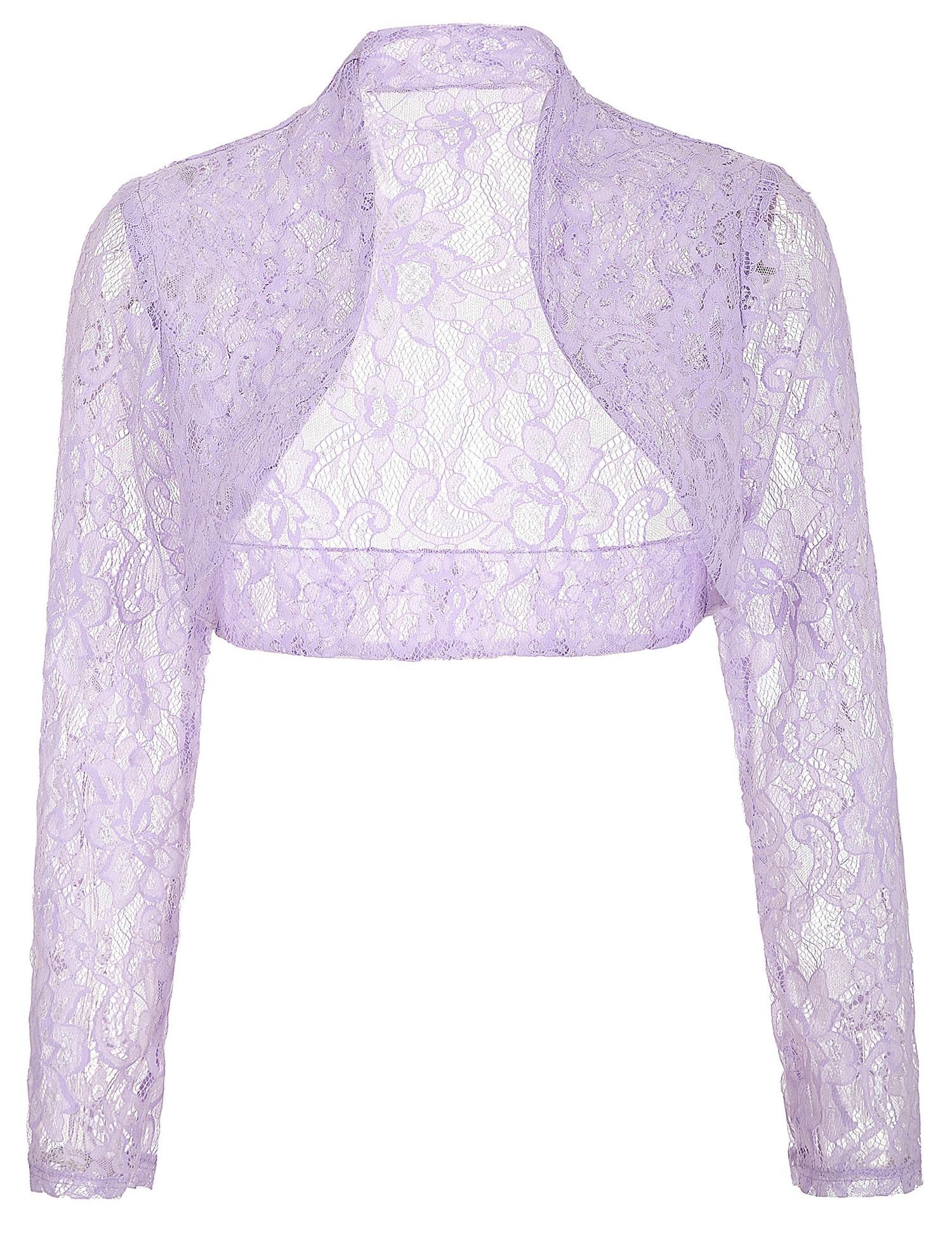 Autumn Fall Jackets Women Long Sleeve Cropped Shrug 2018 Black Green Wedding Evening Prom Coat Wrap Plus Size Womens Lace Bolero ...