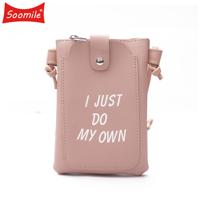 Soomile 2018 New Fashion Mini Shoulder Bag for Coin Mobile Phone Money Student women girls Tassels Messenger Bags Purse Wallets