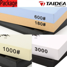 TAIDEA 180Grit/600Grit; 1000Grit; 3000Grit  Knife sharpener ,corundum sharpening stone kitchen knife sharpening system oilstone