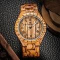 Nova chegada projeto do vintage relógio de madeira dos homens de negócios marca uwood homens de negócios assista estilo retro do vintage
