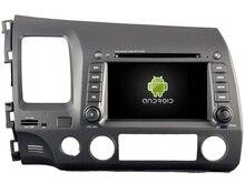 Android 8.0 octa Core 4 GB RAM reproductor de DVD de coche para Honda Civic 2006-2011 pantalla táctil IPS cabeza unidades grabadora con GPS
