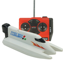 RC Mini Speed Boat F1 Rowing Model 4CH 2.4G Toy for Kids