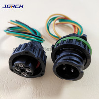 1set 4pin 2.5MM tyco round HOWO A7 odometer speed sensor auto wire harness 1-967402-1 1-967325-1