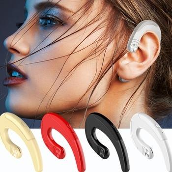 2018 Newest mini light small  Wireless Earphone Microphone Support Bluetooth Headphone Ear Hook Bluetooth Earphone Hot Selling