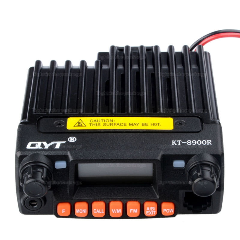 NEW QYT KT-8900R KT8900R Mini Mobile Radio Tri Band 136~174MHz 240-260MHz 400~480MHz with cheap price Free Shipping (8)