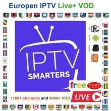 цены на Europe IPTV France UK German Arabic Belgium Sweden French Poland Spain USA Canada Dutch smart TV Box IPTV M3U 7500+ Live  в интернет-магазинах