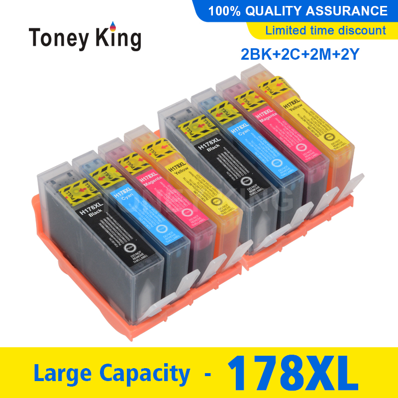 178 178XL Ink Cartridge Replacement For HP 178 For <font><b>HP178XL</b></font> Photosmart 5520 6510 6520 7520 3070A 3520 4610 4620 Inkjet Printer image