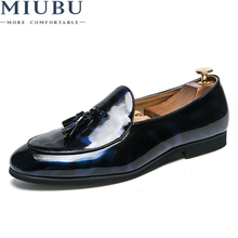 MIUBU Factory direct Spring and Summer New Men Shoes Fashion Casual Loafers Breathable Slip on