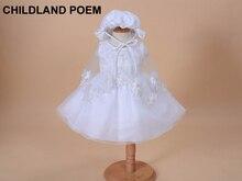 Summer 1 year girl baby birthday dress vestido infantil newborn baby girl dress Lace Christening dresses baby party dress