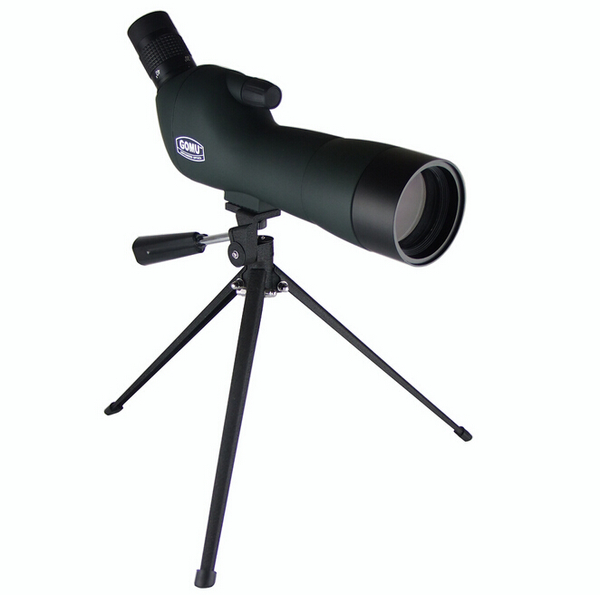 20-60X60 Zoom HD Adjustable Monocular Telescope Spotting Scopes with Portable Tripod Telescopio for Hunting Traveling Green SP03 professional spotting scope with portable tripod hd monocular telescope 12 36x50 spotting scopes for hunting birdwatching