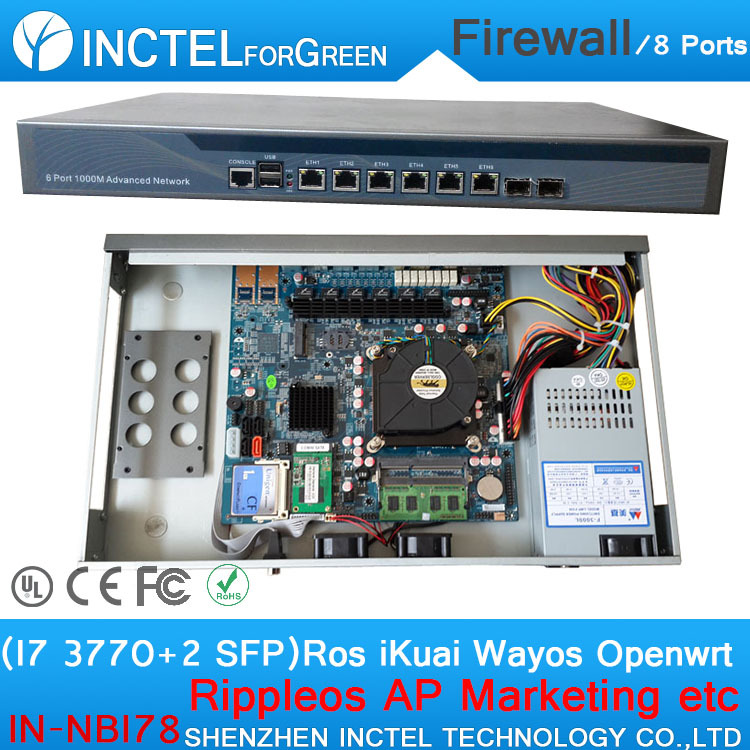Wechat Marketing WiFi Advertising Routes AC Management VPN Firewall Appliance with I7 3770 Processor waterman перьевая ручка waterman s0830800
