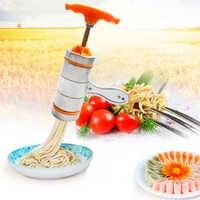 Machine manuelle de cuisine de presse-fruits d'acier inoxydable Pressa nouille faisant la Machine avec 7/5 moules de pressage outil de Spaetzle