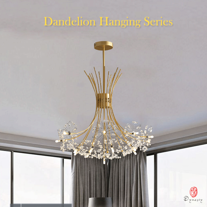 Image 2 - Dandelion Series Hanging Lights Art Decorative Pendant Lamp Branch& Ball Shape Include LED G4 Bulbs Foyer Cafe Living Room Light-in Pendant Lights from Lights & Lighting
